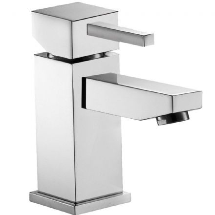 Pura SQ2 High Flow Basin Mixer with clicker waste